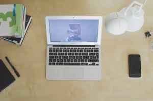 light-apple-books-desk