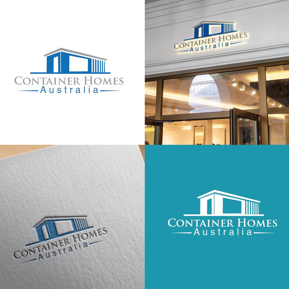 Logo For Container Homes Australia 23763 Squadhelp