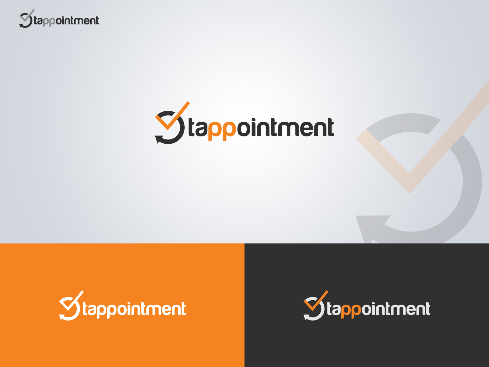 Logo For An Appointment Scheduling App | 3397 | Squadhelp