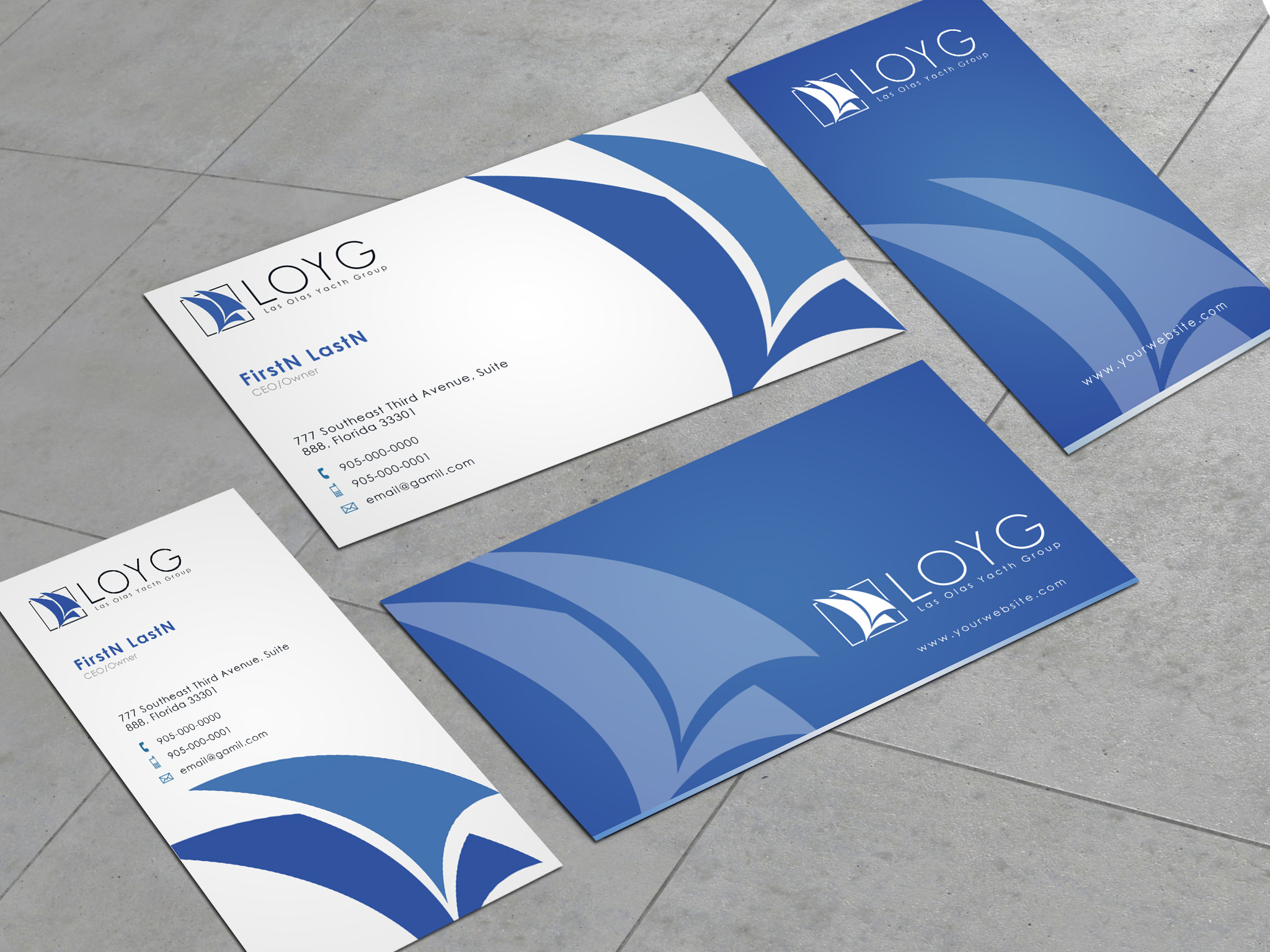 Letterhead Envelope Design