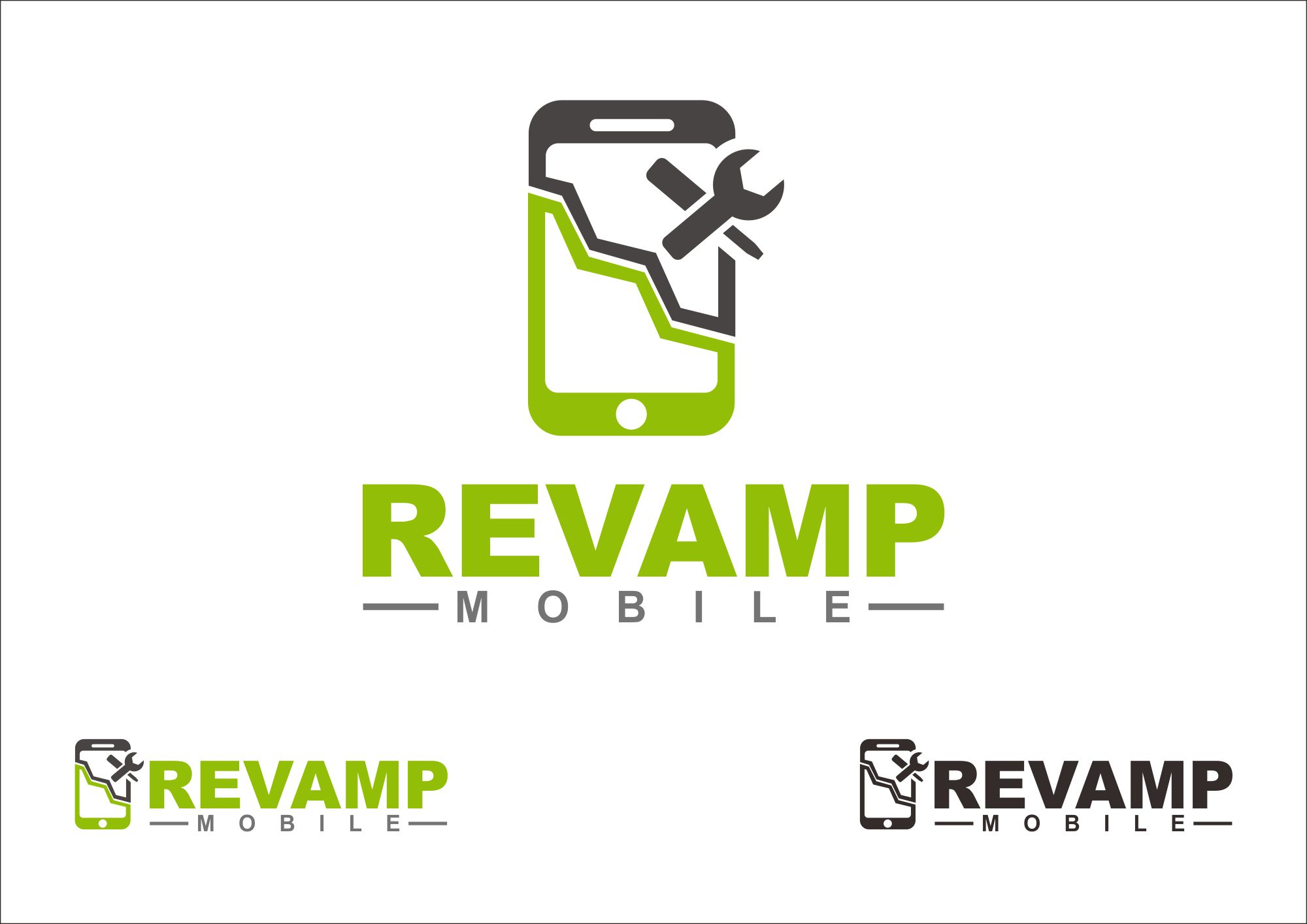 Minimal Logo For A Smartphone Flipping/repair Business ...