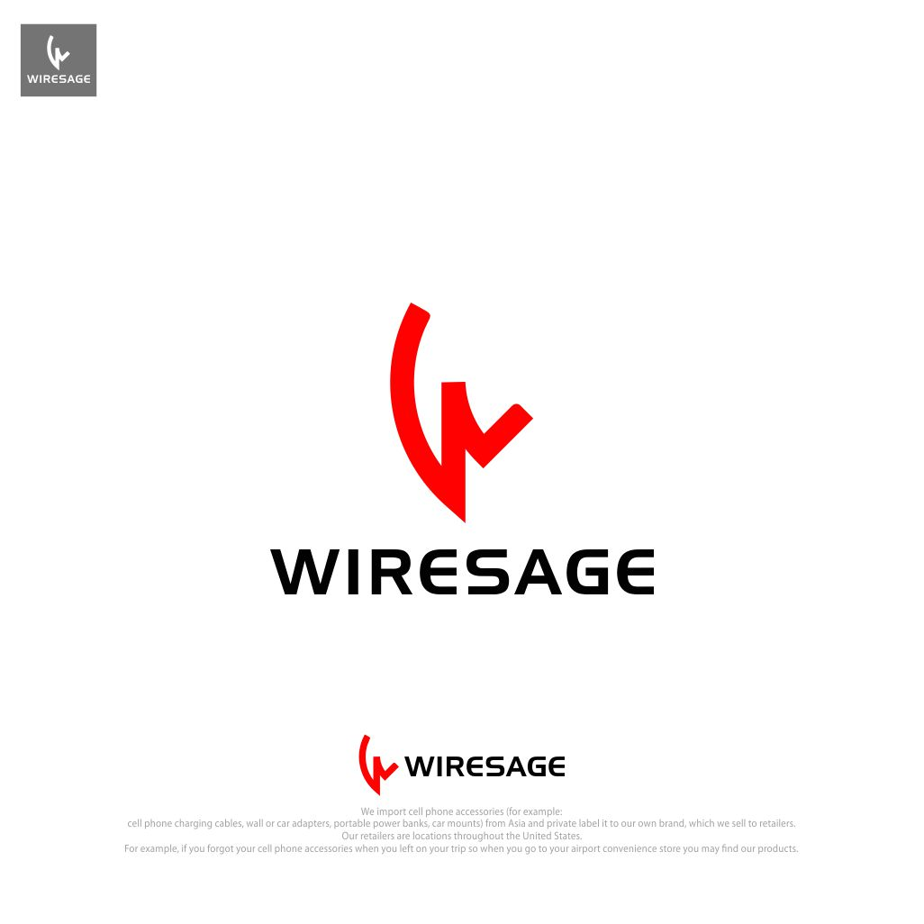 Logo For Cell Phone Accessories Company - WireSage | 20106 | Squadhelp