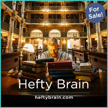 Name For Sale - HeftyBrain.com