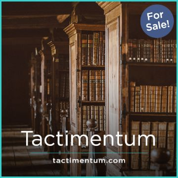 Name For Sale - tactimentum.com