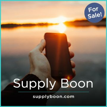 Name For Sale - SupplyBoon.com