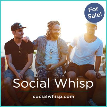 Name For Sale - SocialWhisp.com