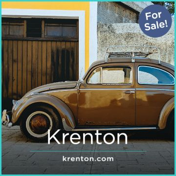Name For Sale - Krenton.com