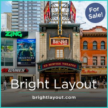 Name For Sale - BrightLayout.com