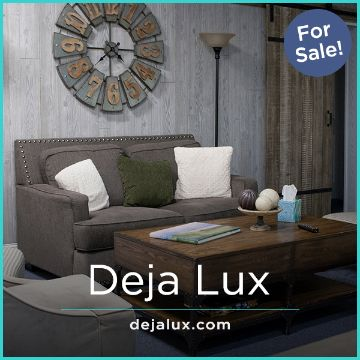 Name For Sale - DejaLux.com