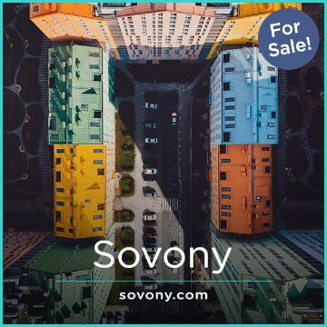 Name For Sale - Sovony.com
