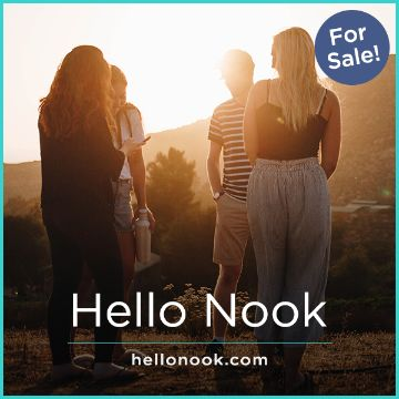Name For Sale - HelloNook.com
