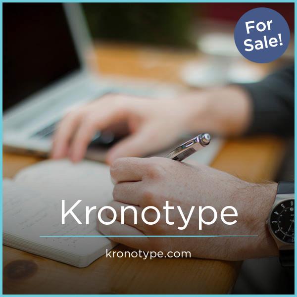 Kronotype.com