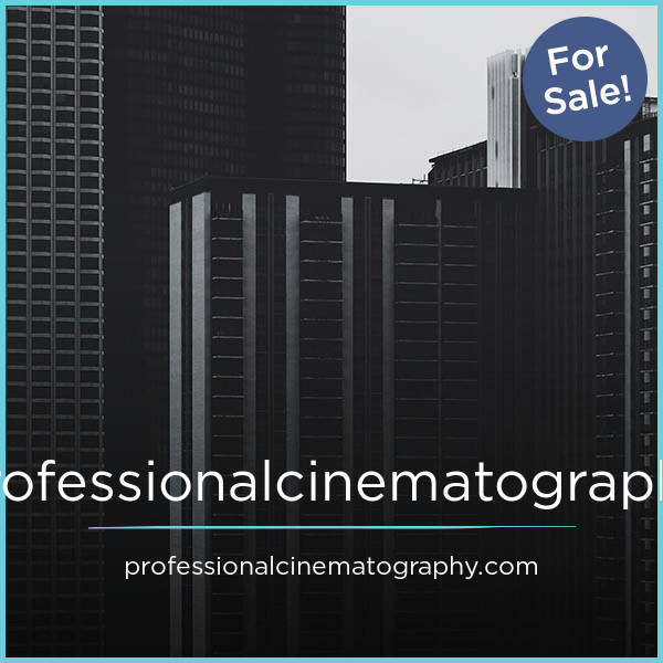 professionalcinematography.com