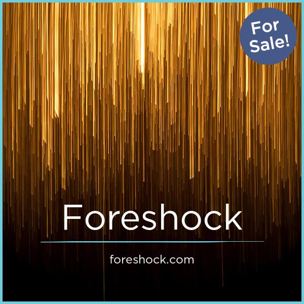 Foreshock.com