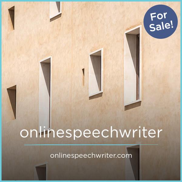 OnlineSpeechwriter.com
