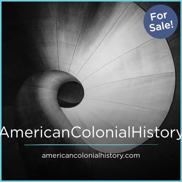 AmericanColonialHistory.com
