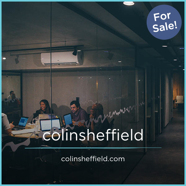 ColinSheffield.com
