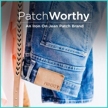Name For an iron on Jean patch brand
