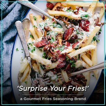 Name For a gourmet fries seasoning brand