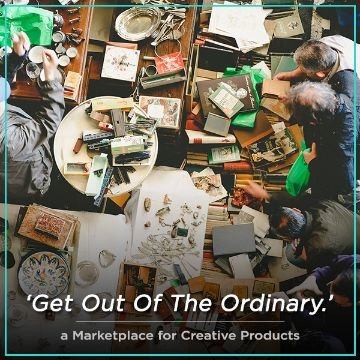Name For a marketplace for creative products