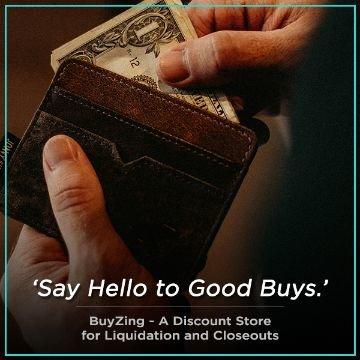 Name For BuyZing - A discount store for Liquidation and Closeouts