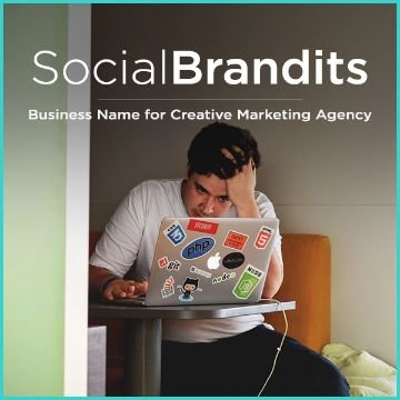 Names Ideas for a Marketing or Branding business   Squadhelp