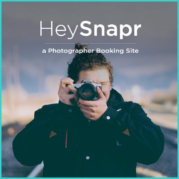 Name For a Photographer Booking Site