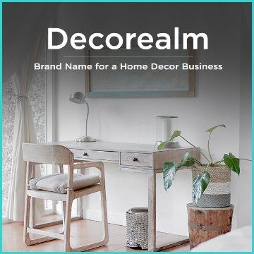 Names Ideas For A Home Decor Business Squadhelp