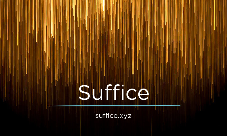 Suffice.xyz