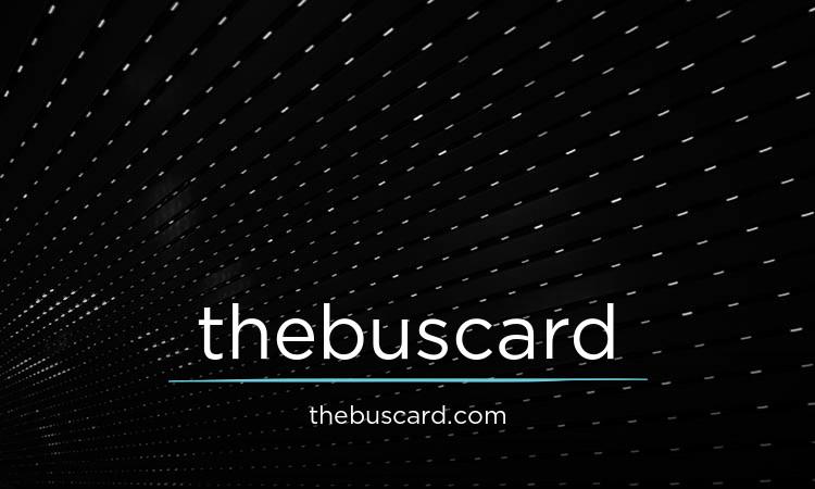 thebuscard.com