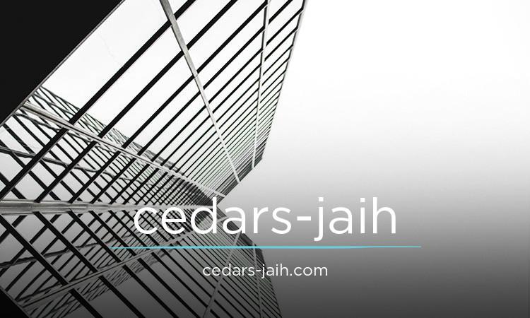 cedars-jaih.com