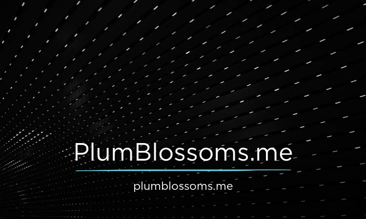 PlumBlossoms.me
