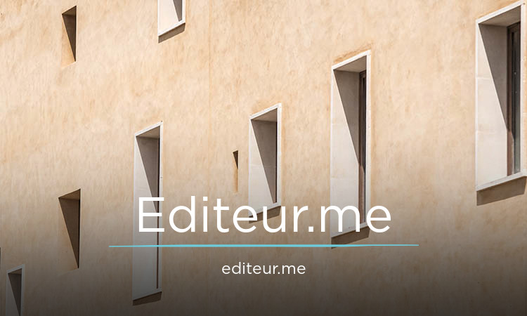 Editeur.me