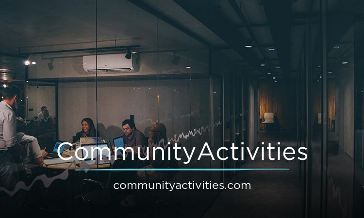 CommunityActivities.com