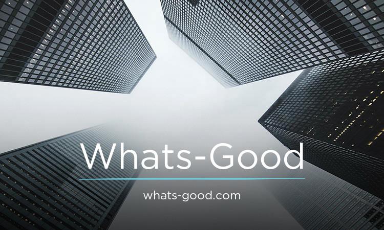 Whats-Good.com