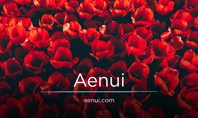Aenui.com