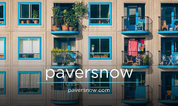 paversnow.com