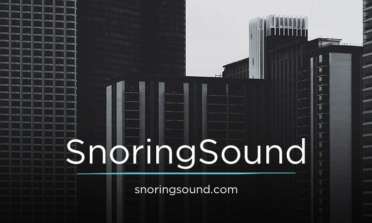 SnoringSound.com
