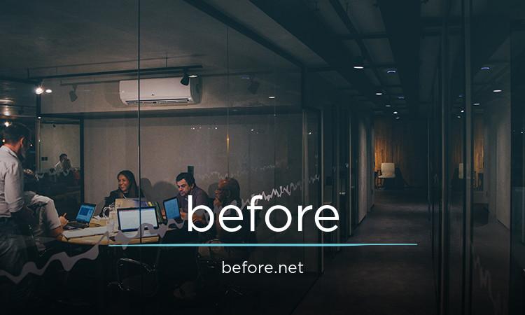 before.net