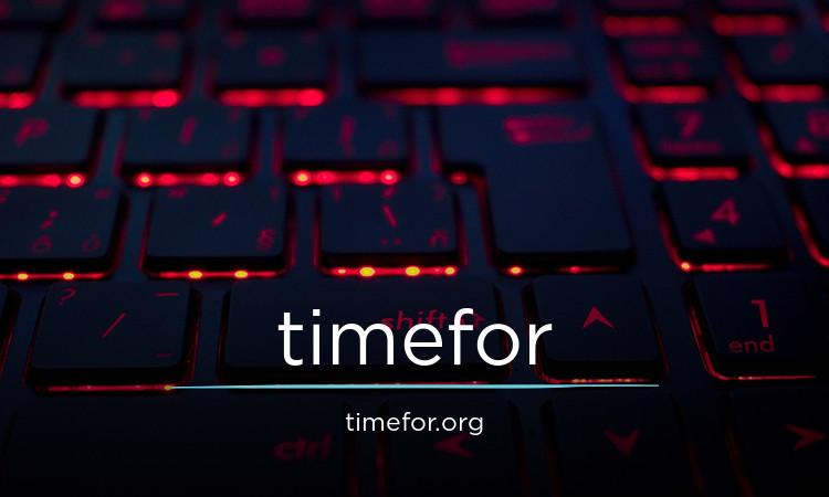 timefor.org