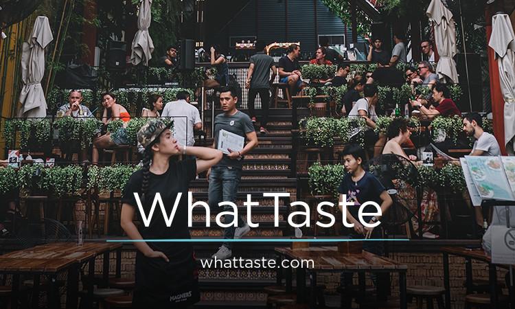 WhatTaste.com