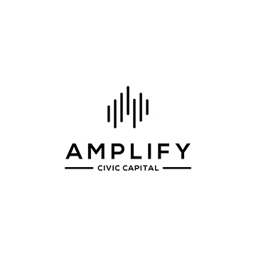 Logos For Amplify Civic Capital, An Impact Investing Firm